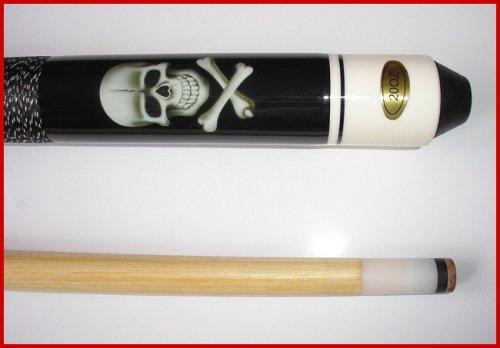 Billard-Queue Black Death + Koffer Standard schwarz in 2 Ausführungen - 4