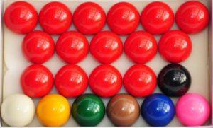Billardkugeln kaufen, komplettes Set Snookerkugeln kaufen