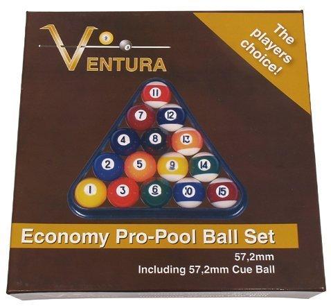 Ventura Billardkugeln Standard   Pool