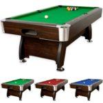 Billardtisch 7ft Premium, dunkles Holzdekor, Billardtisch kaufen