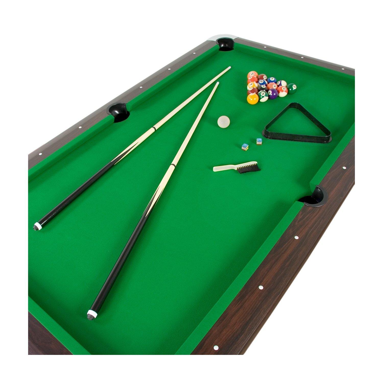 7ft billardtisch premium mdf pool tisch billardtisch for Pool holzdekor