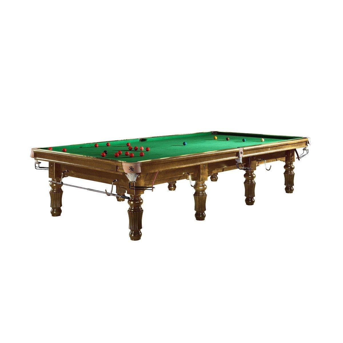 Snooker Billardtisch Bardossa II, 12ft, Holzfarbe Honig